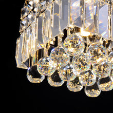 Little Square Crystal Raindrop Chandelier - Ceiling Lights - Details