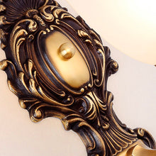 Vintage Brass Wall Light - Details