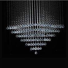 Rubik Lighting - Diamond Shape Crystal Chandelier Details