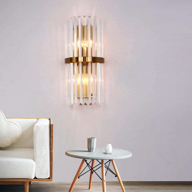 Crystal Wall Sconce Wall Lamp Lighting Fixture - living Room