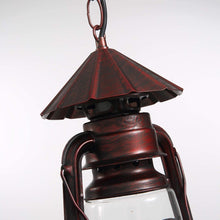 Rustic Lantern Pendant Lighting - Detail