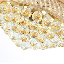 Gold Crystal Ceiling Fan - Details