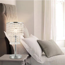 Bedside Crystal Table Lamp - Bedroom