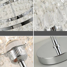 Bedside Crystal Table Lamp - Details