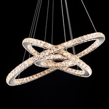 Crystal Ring Chandelier - Multi-Ring Choices