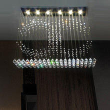Double C Crystal Chandelier Ceiling Light - Customizable