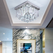 Modern Design Crystal Ceiling Light - Flush Mount Corridor Lamp