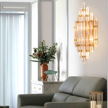 Postmodern Design Crystal Wall Sconces - Living Room