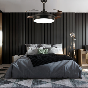 Modern Ceiling Fan With Lighting - Bedroom