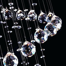Multi Layer Round Crystal Chandelier Ceiling Lights - details
