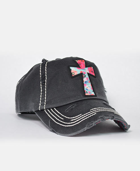 Cross Hat-Black