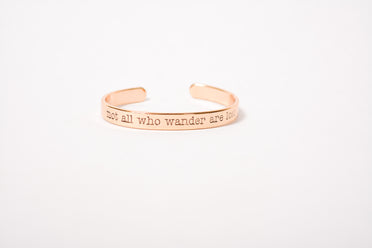 All Who Wander Bracelet