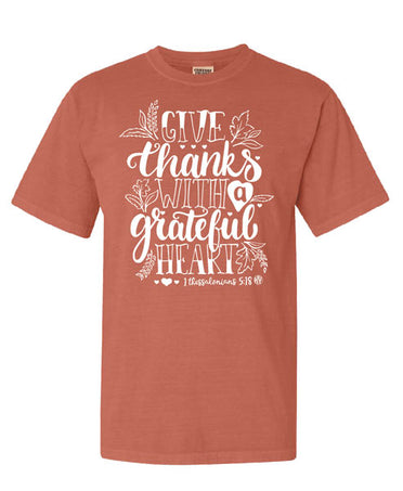 Grateful Heart Comfort Color