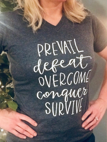 Refuge For Women Tee: Survive
