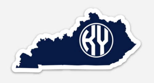 Navy State Decal