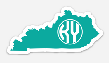 Teal State Decal
