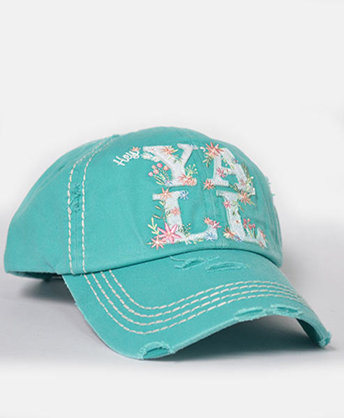 Hey Y'all Turquoise Hat