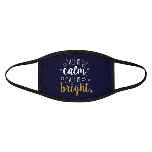 All is Calm Mixed-Fabric Face Mask