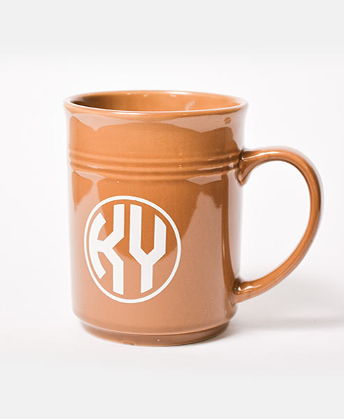 Monogram Mug Brown