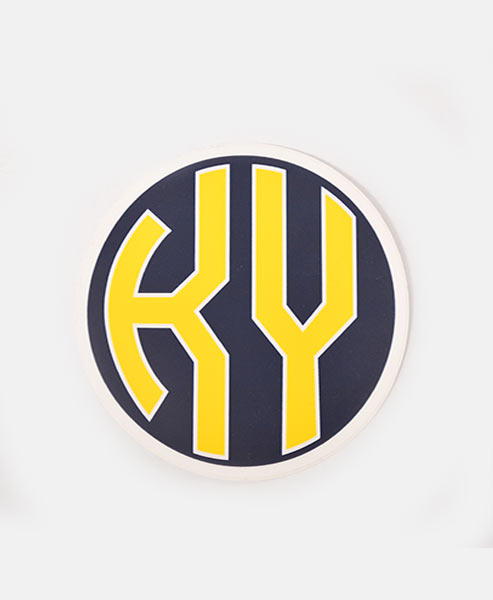 KY Decal - Navy & Yellow