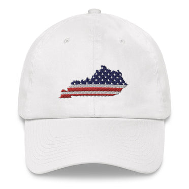 American Flag Kentucky Hat
