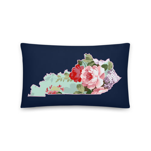 Roses and Mint Pillow