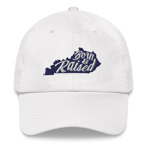 Born & Raised Hat (White)
