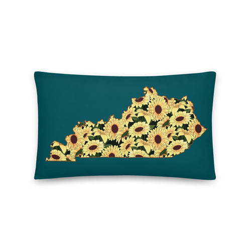 Sunflower Kentucky Pillow