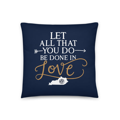 Done in Love Pillow