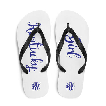 Kentucky Girl Flip-Flops White