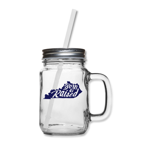 Born & Raised Mason Jar - clear