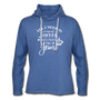 Coffee & Jesus Lightweight Hoodie - heather Blue