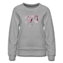 270 Floral Premium Sweatshirt - heather gray