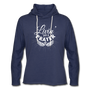 Livin' on a Prayer Lightweight Hoodie - heather navy