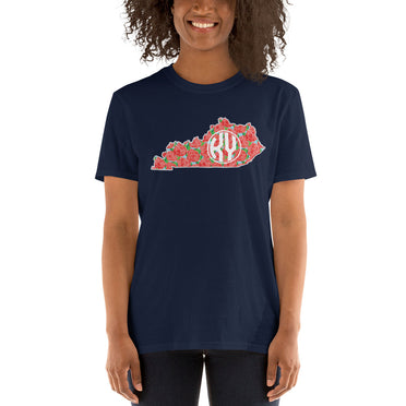 State Roses SS Tee (Navy)
