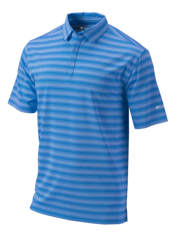 Columbia Mens Personalized Omni-Wick Splash Polo Golf Shirt - Golf Tees Etc