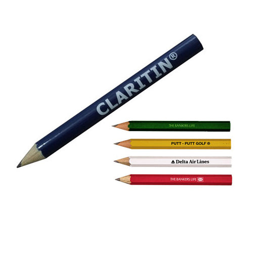 Personalized Rounded Golf Pencils
