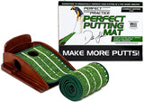 Perfect Practice Golf Putting Mat - Compact Edition