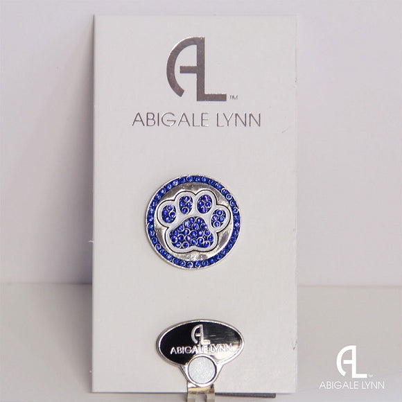 Abigale Lynn Golf Ball Marker & Hat Clip - Cat Paw