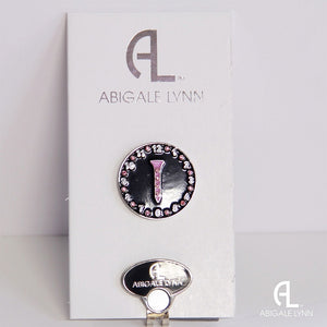 Abigale Lynn Golf Ball Marker & Hat Clip - Golf Tee