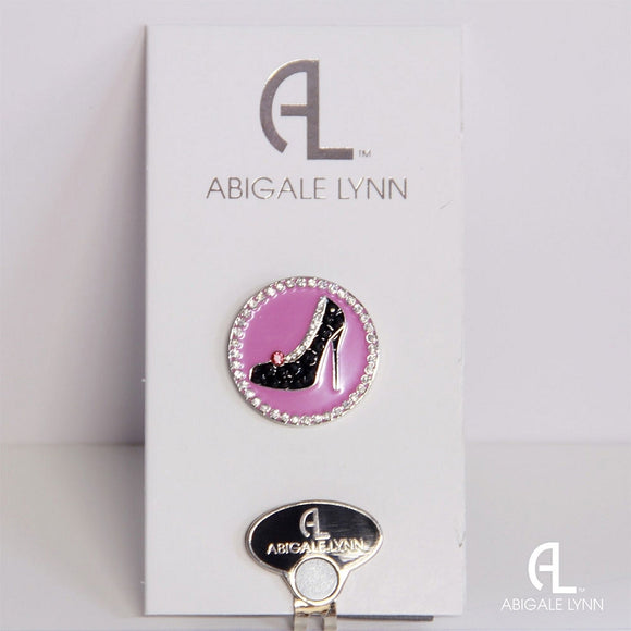 Abigale Lynn Golf Ball Marker & Hat Clip - High Heel - Golf Tees Etc