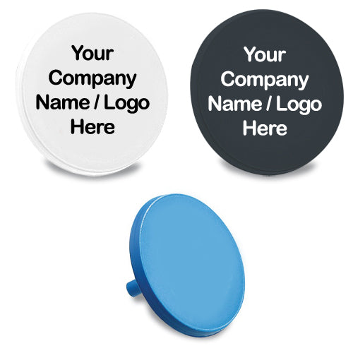 Custom Personalized Golf Ball Markers - 2 Ink Colors (500)