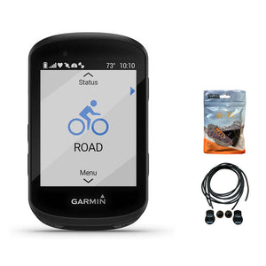 Garmin Edge 530 GPS Cycling/Bike Computer with Mapping & Navigation. Bundled with A Pack of Elastic No-tie Reflective Shoe Laces
