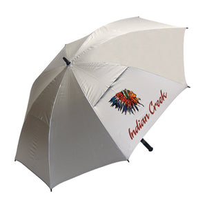 Haas Jordan Hurricane 345 Sunflector 62'' Custom Golf Umbrella - Golf Tees Etc