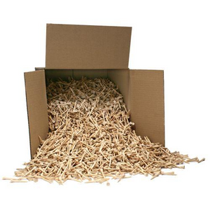 "5,000 Bulk 2 3/4"" Wooden Golf Tees - Golf Tees Etc"