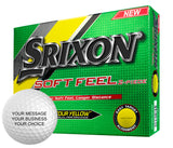 Srixon Soft Feel Custom Personalized Golf Balls (12 Ball Pack)