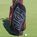 Personalized Diamond Collection Golf Towel - Corner Grommet