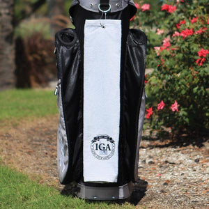 Personalized Diamond Collection Golf Towel - Tri-Fold