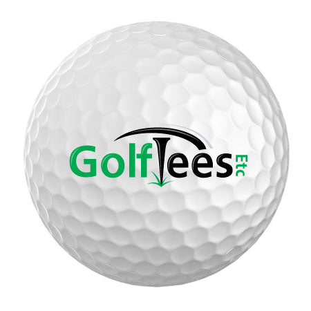 White Custom Logo Golf Balls (1 Dozen)