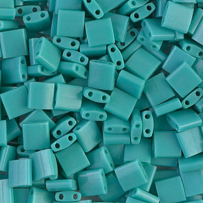 Tila Beads TL-412 Opaque Turquoise Green x 10 g